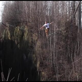 Our team-athlete @lukasirmler has started a 30-day challenge. Sticking a highline-freestyle combo each day. And he means it, when he talks about freestyle! Follow him to see his creativity and get inspired for your own 30-day-challenge ;-) Slackline he uses in his challenge: SLACKTIVITY - pinkTube . . #freestyler #freestylechallenge #30daychallenge #highline #highlinefreestyle #freestylesports #slacklife #slacklining #highlining