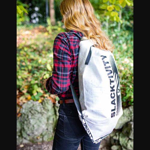 backpack for slackline