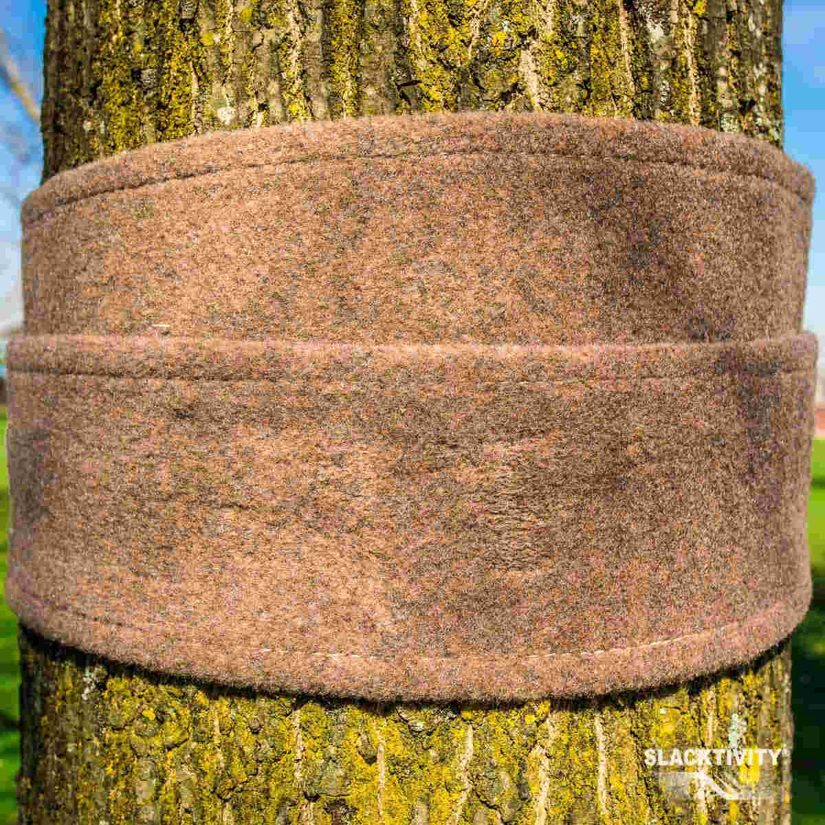 treeprotections set for slackline