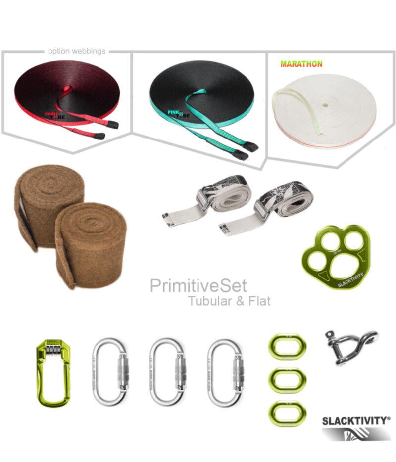 primitive slackline kit