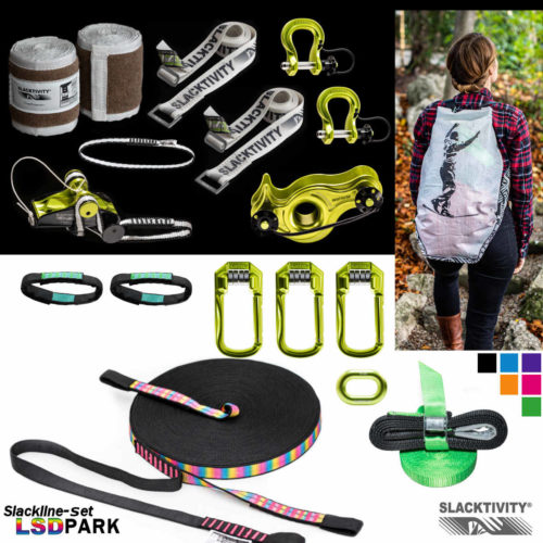 lsdpark 50m hangover pulley system